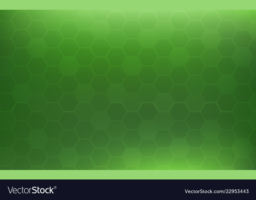 Green Honeycomb Abstract Background Wallpaper And