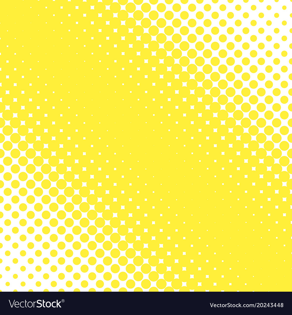 Abstract simple halftone dotted background vector image
