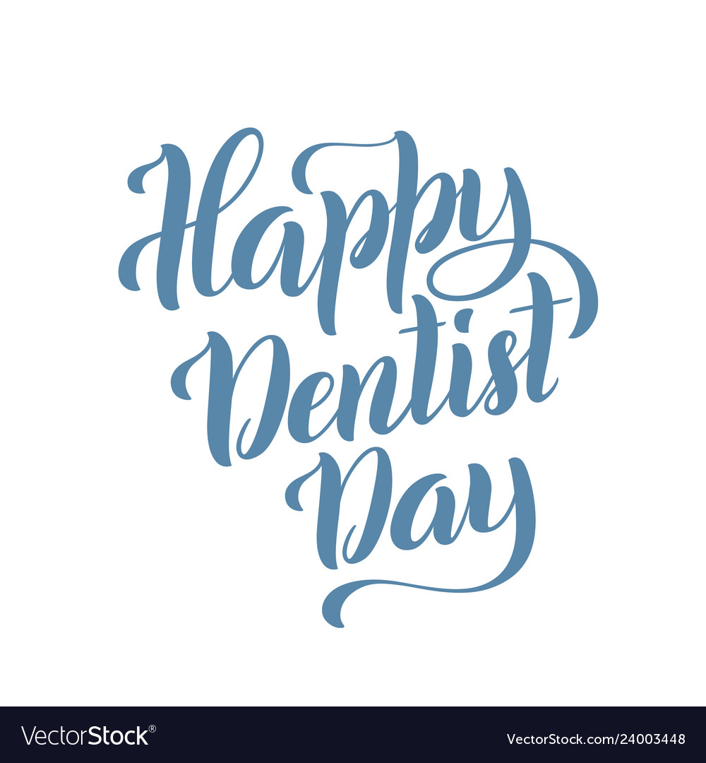 Happy dentist day march 6 template for poster