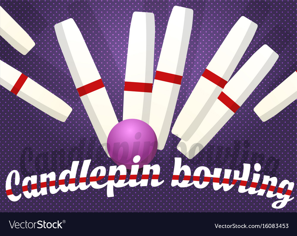 Candlepin bowling color