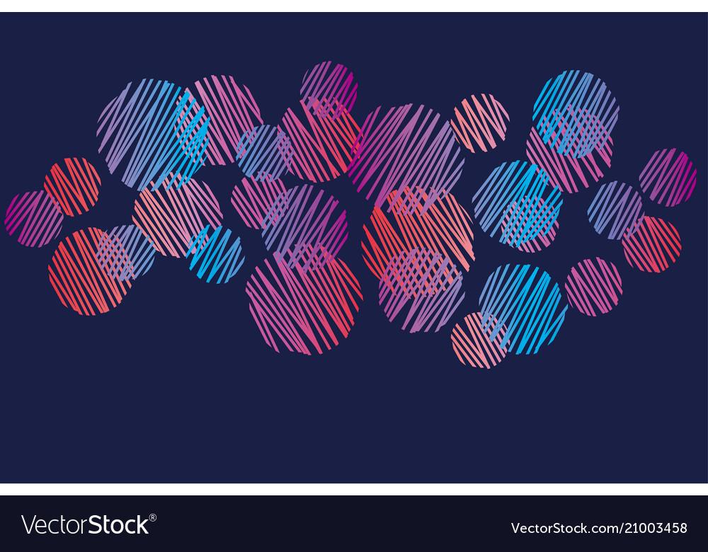 Abstract vivid pink and violet dots pattern