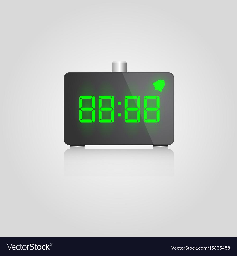 Designer digital lcd alarm