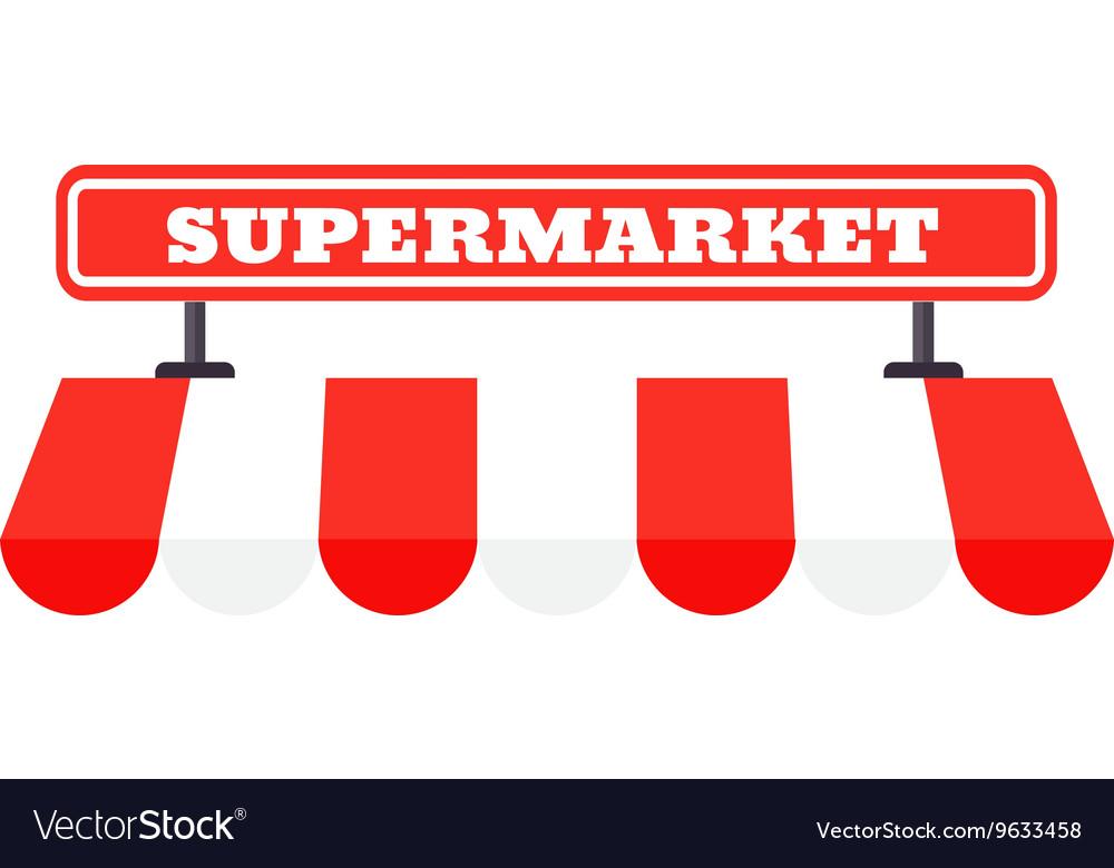 картинка надпись супермаркет