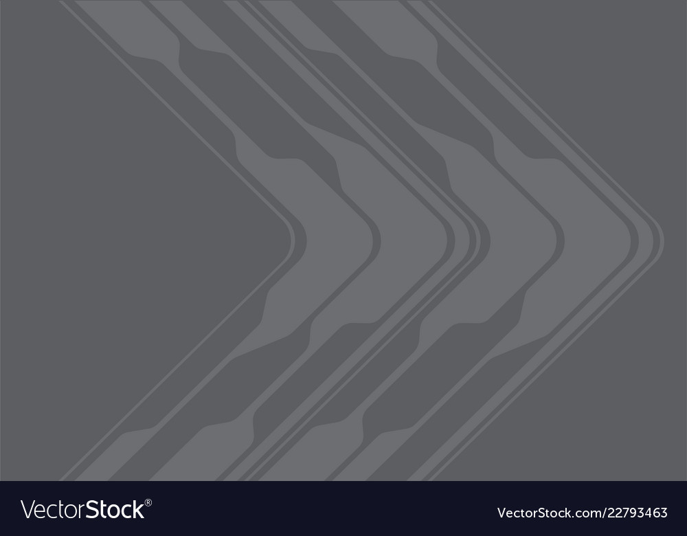 Abstract grey tone arrow curve direction