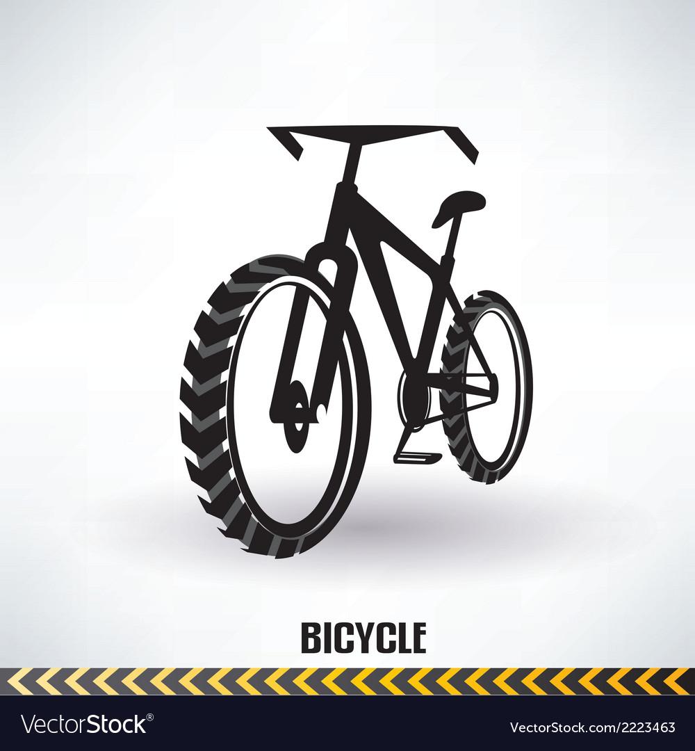 Mountain bike symbol
