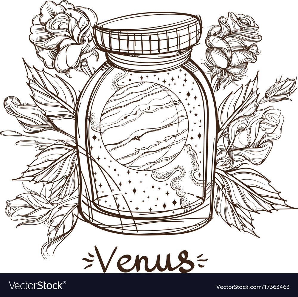 Venus in a glass jar the planet of the solar