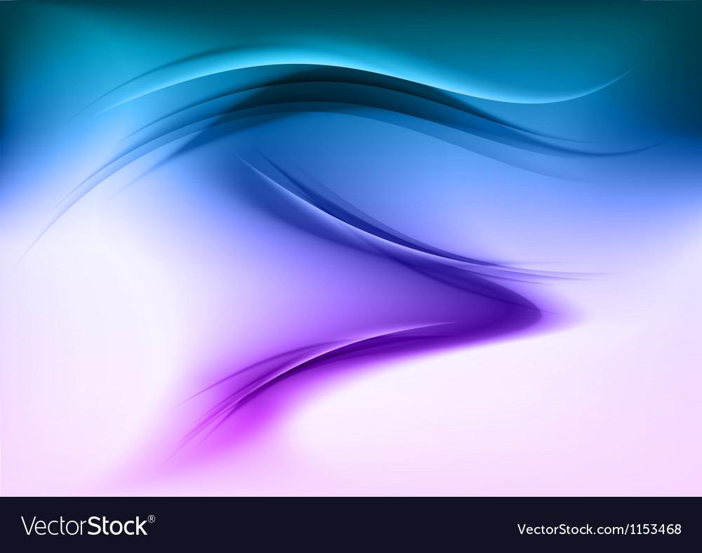 Abstract smoke blue