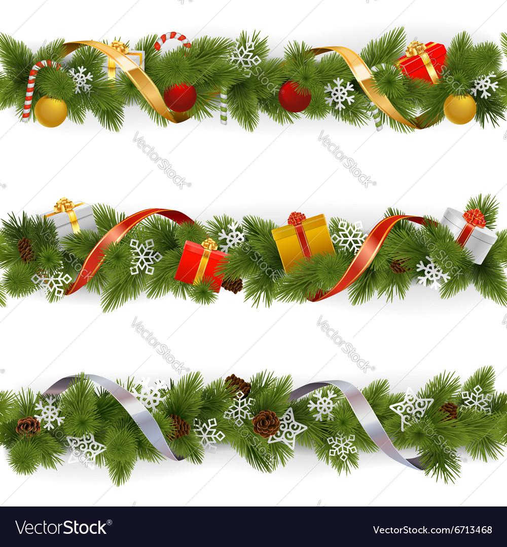 Christmas Border Set 3