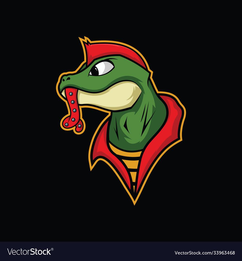 Lizard punk design