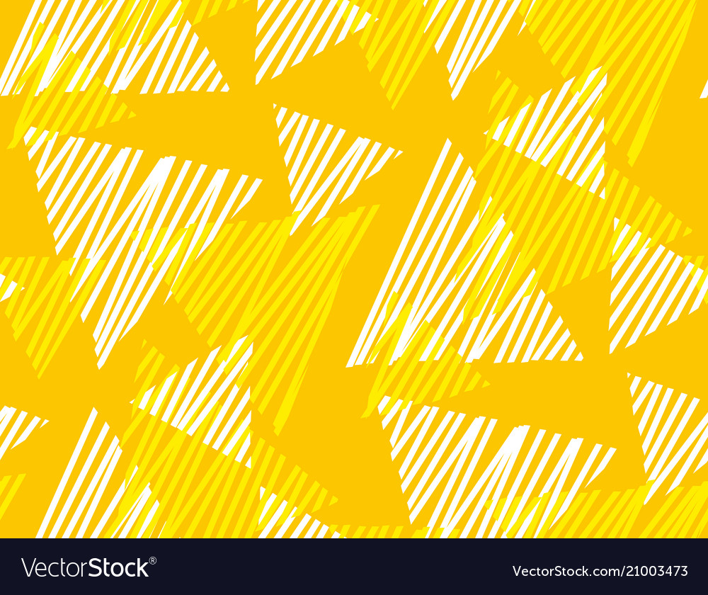 Geometric dynamic triangle and stripe pattern