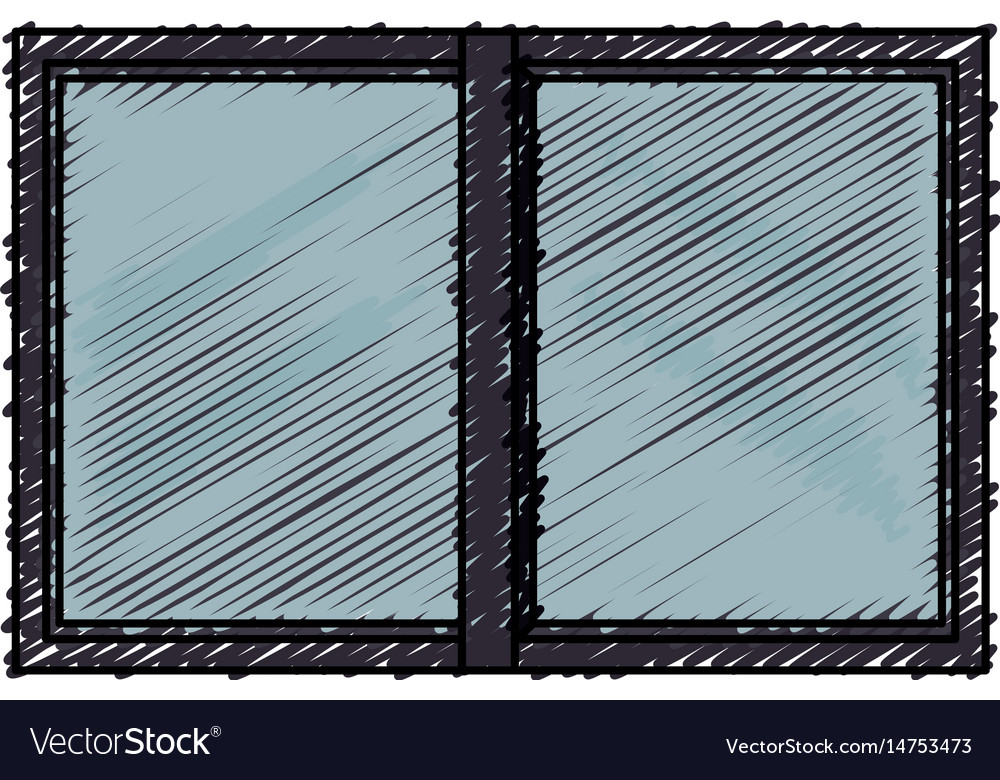 Windows house glass icon