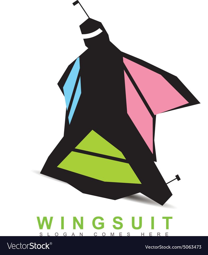 Wingsuit base logo