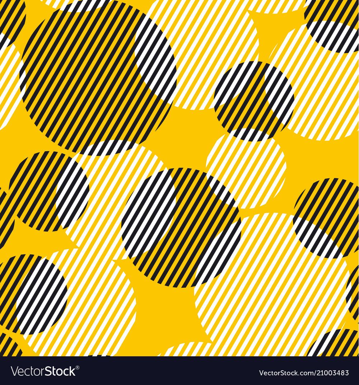 Abstract geometric dynamic seamless pattern