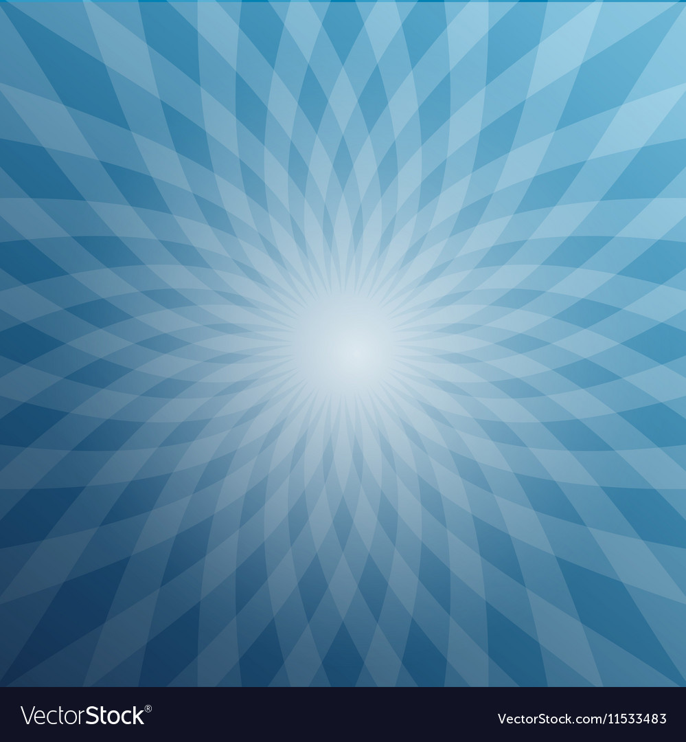 Blue Star Shaped Background Abstract Winter Design
