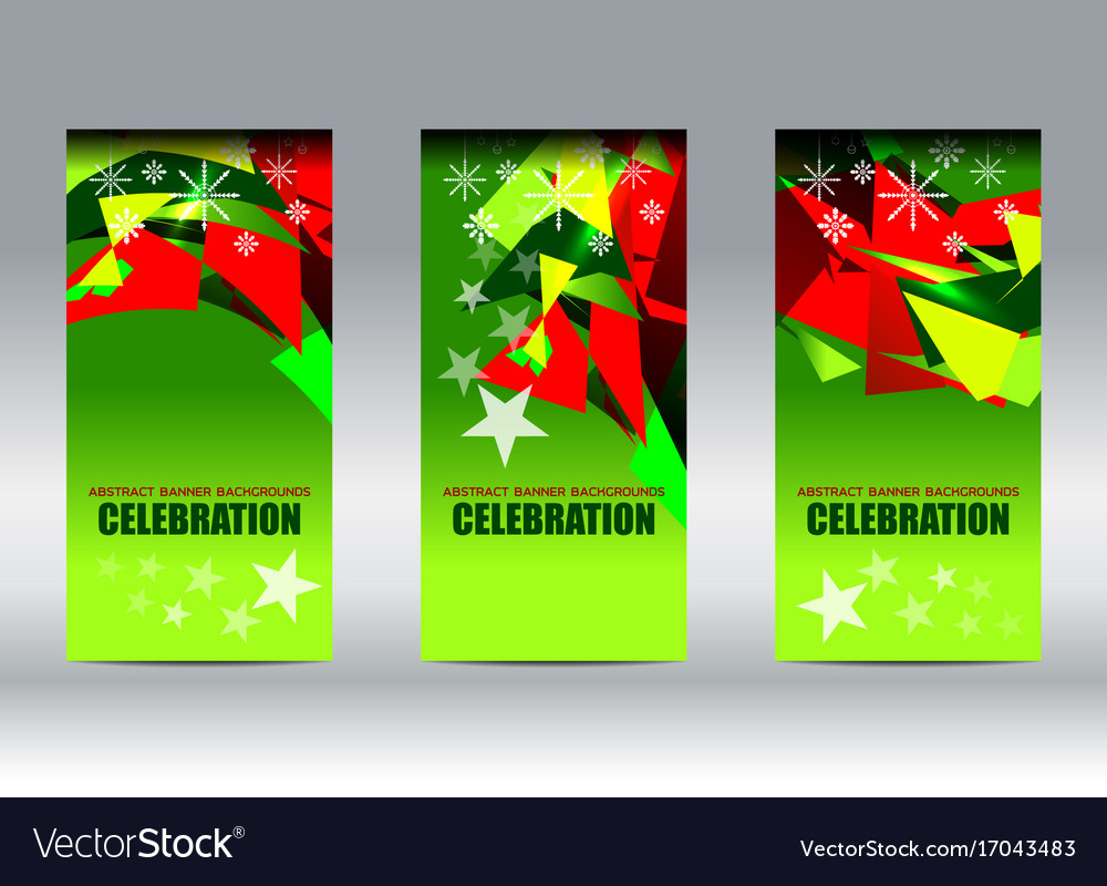 christmas new year vertical background vector image