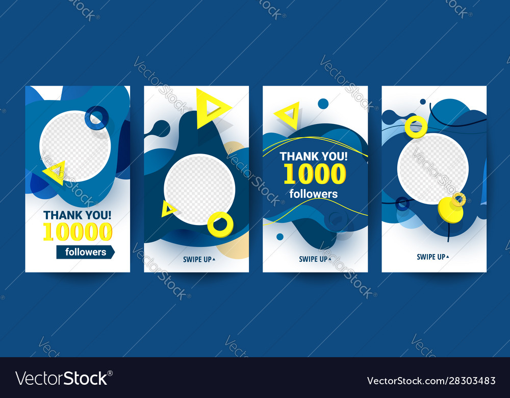 Creative abstract vertical banners set with