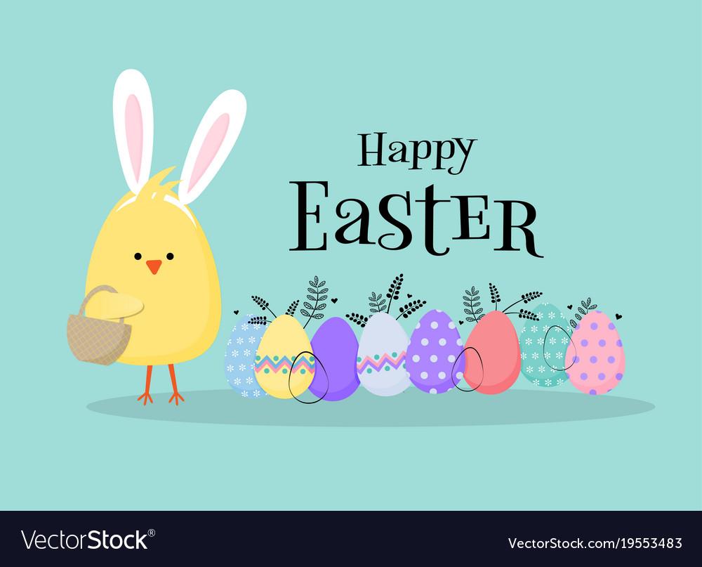 Easter Egg Hunt Poster Invitation Template In