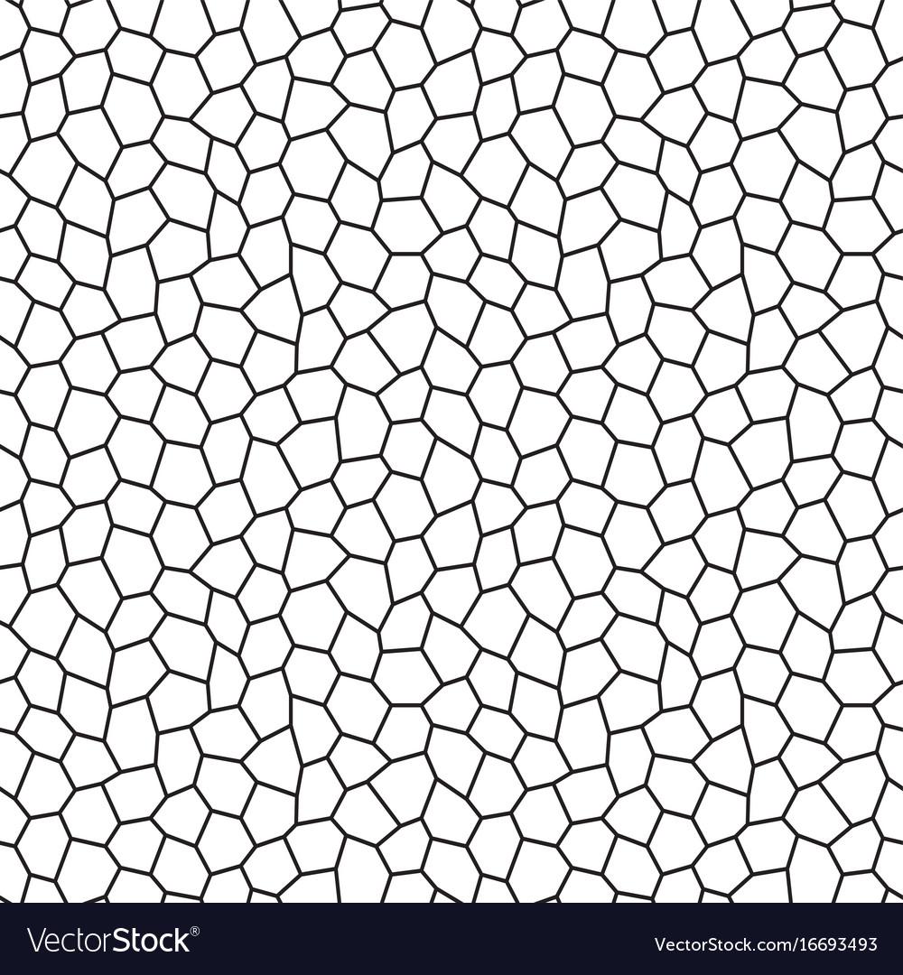 Hexagon Pattern Vector Unique Decorating