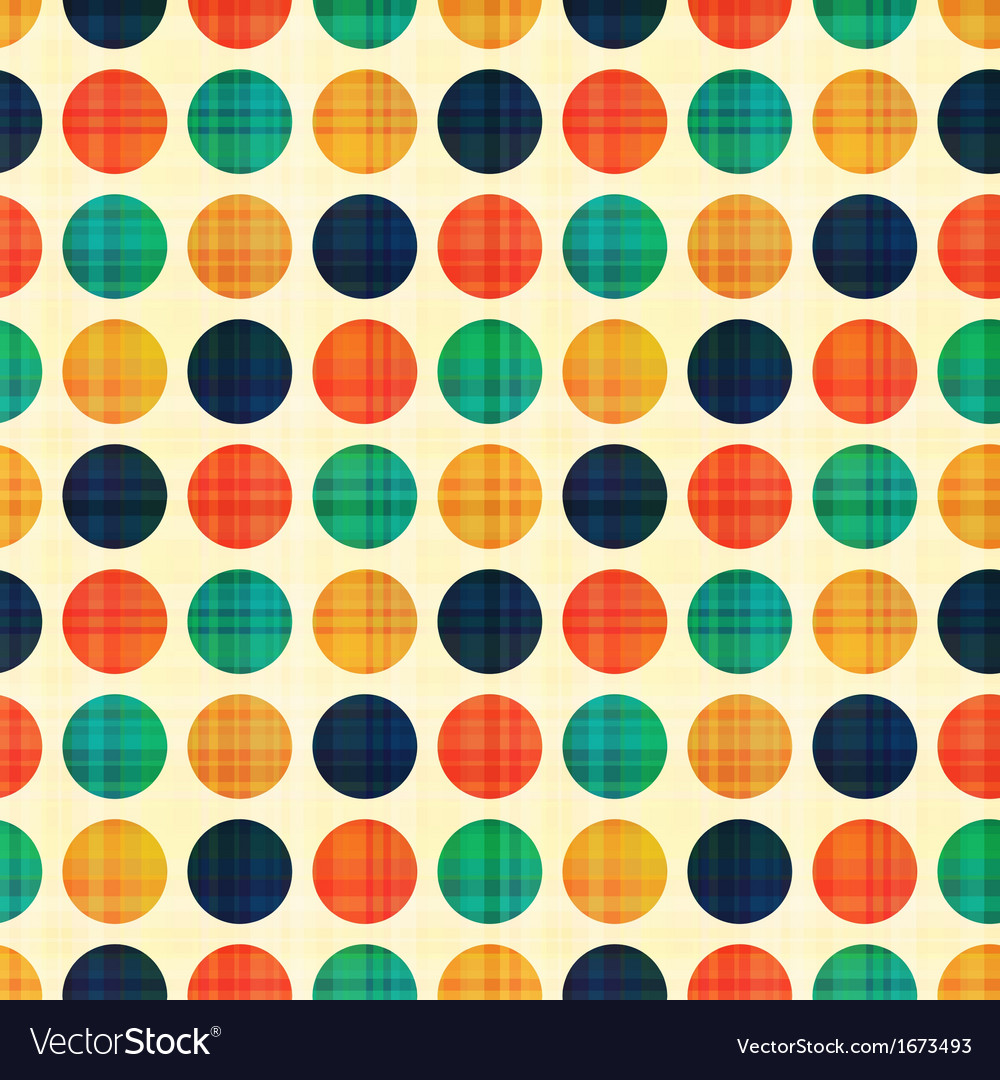 Seamless abstract polka dots pattern