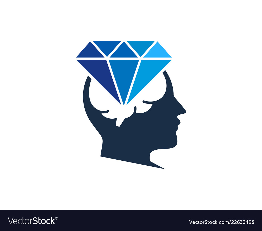 Think diamond logo icon design