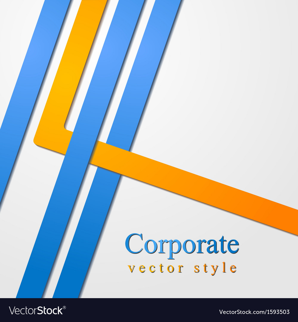 Abstract business corporate design
