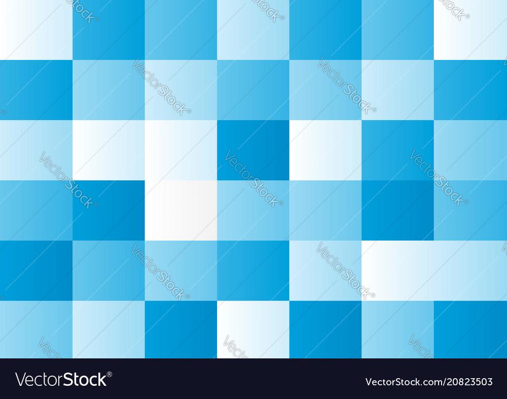 Blue squares on white background