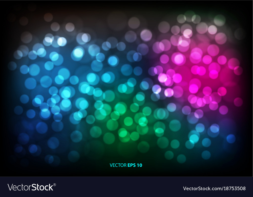 Abstract color bokeh blur light background
