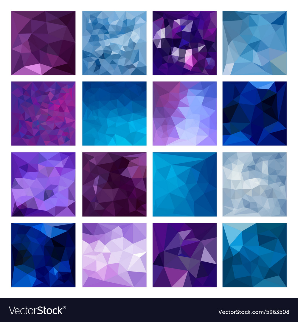 Polygonal Geometric backgrounds