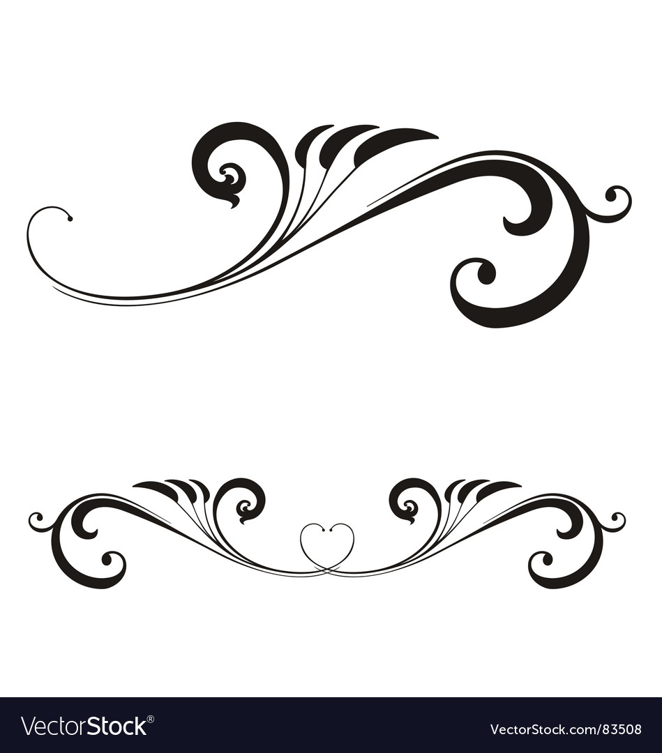 valentines day scroll royalty free vector image rh vectorstock com scroll vector female scroll vector free