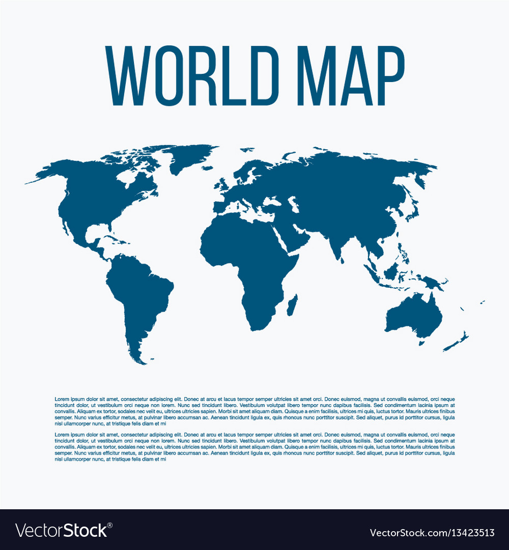 A world map