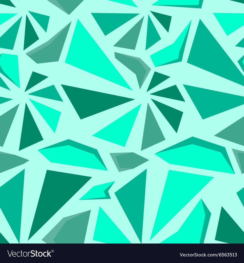 Geometric 3d seamless pattern