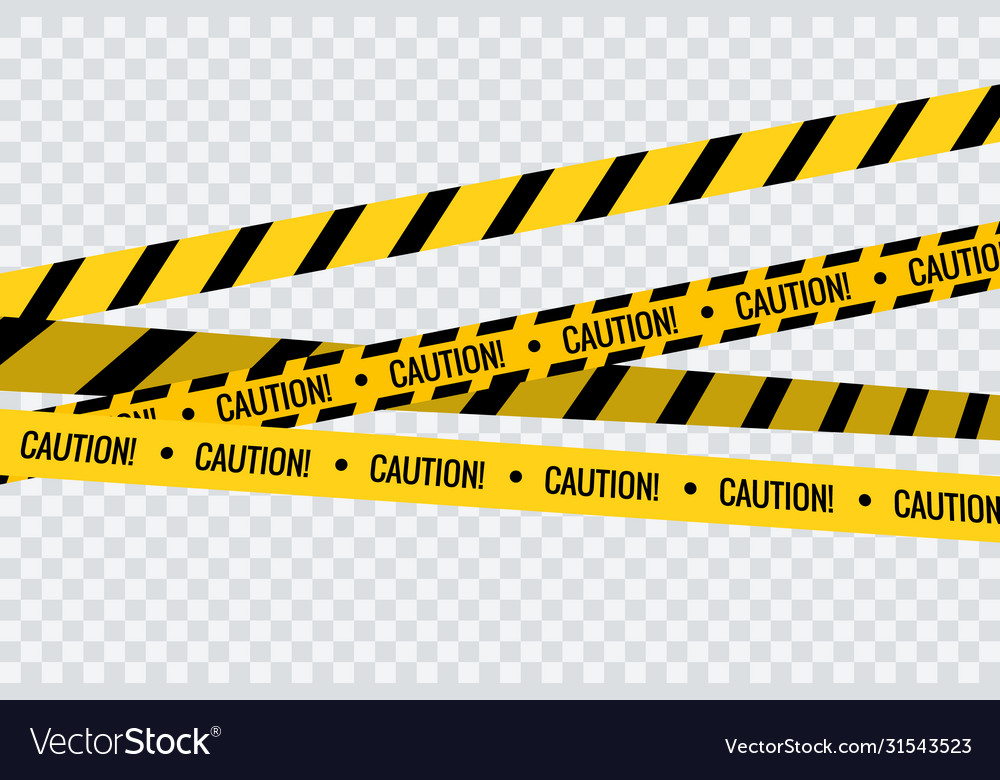Caution tape stripe danger line police hazard do