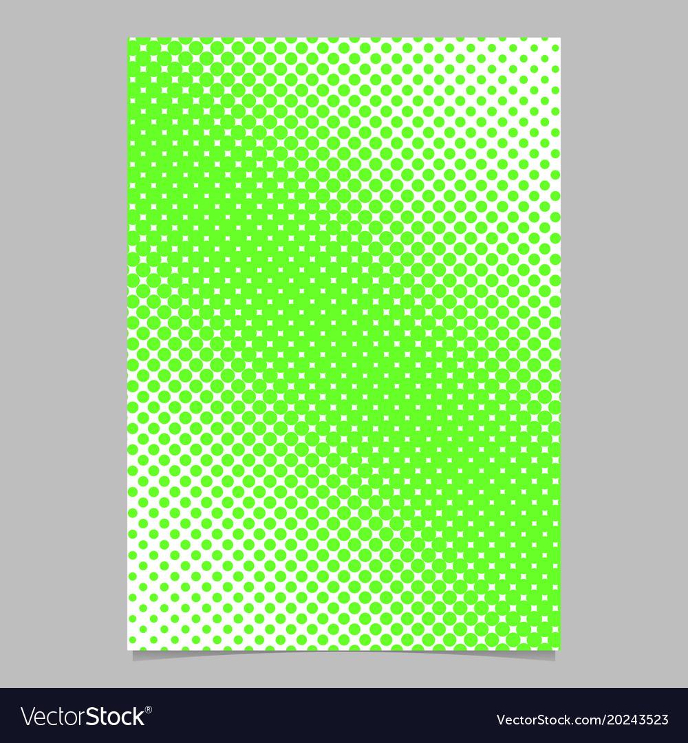 Geometric halftone circle pattern background page