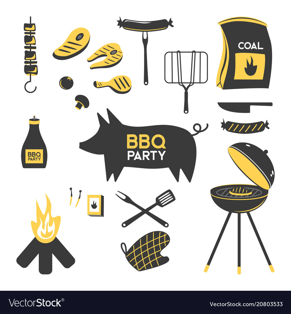 Bbq grill meat barbecue restaurant party at home