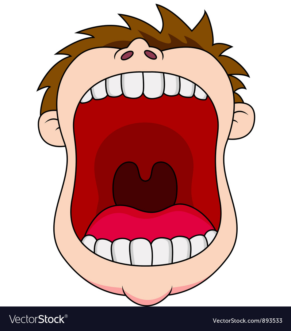 open mouth royalty free vector image vectorstock rh vectorstock com mouth vector download mouth vector icon