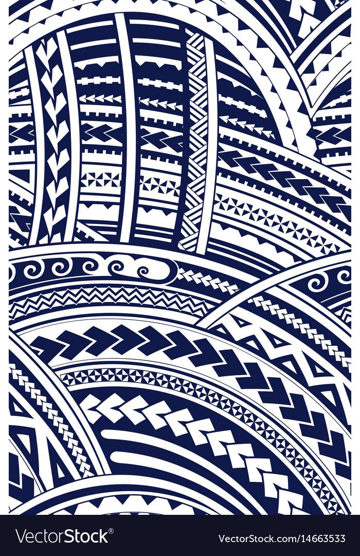 Samoa style ornament