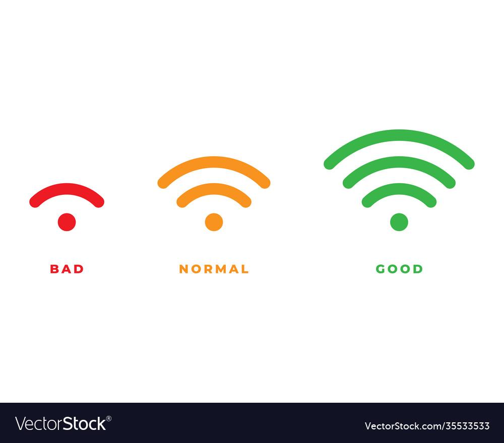 Wifi icon for interface design wlan access