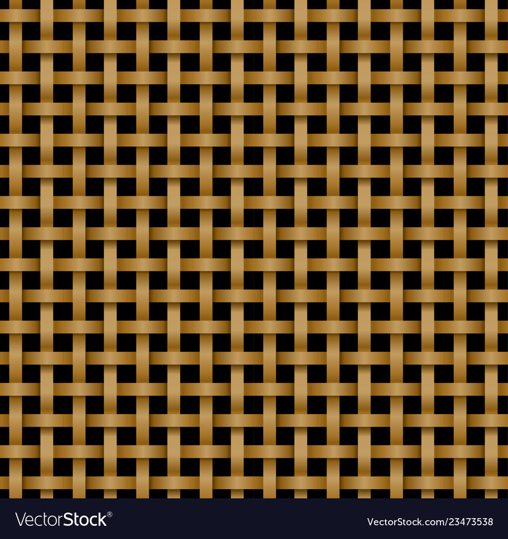 Seamless rattan pattern in knotwork style