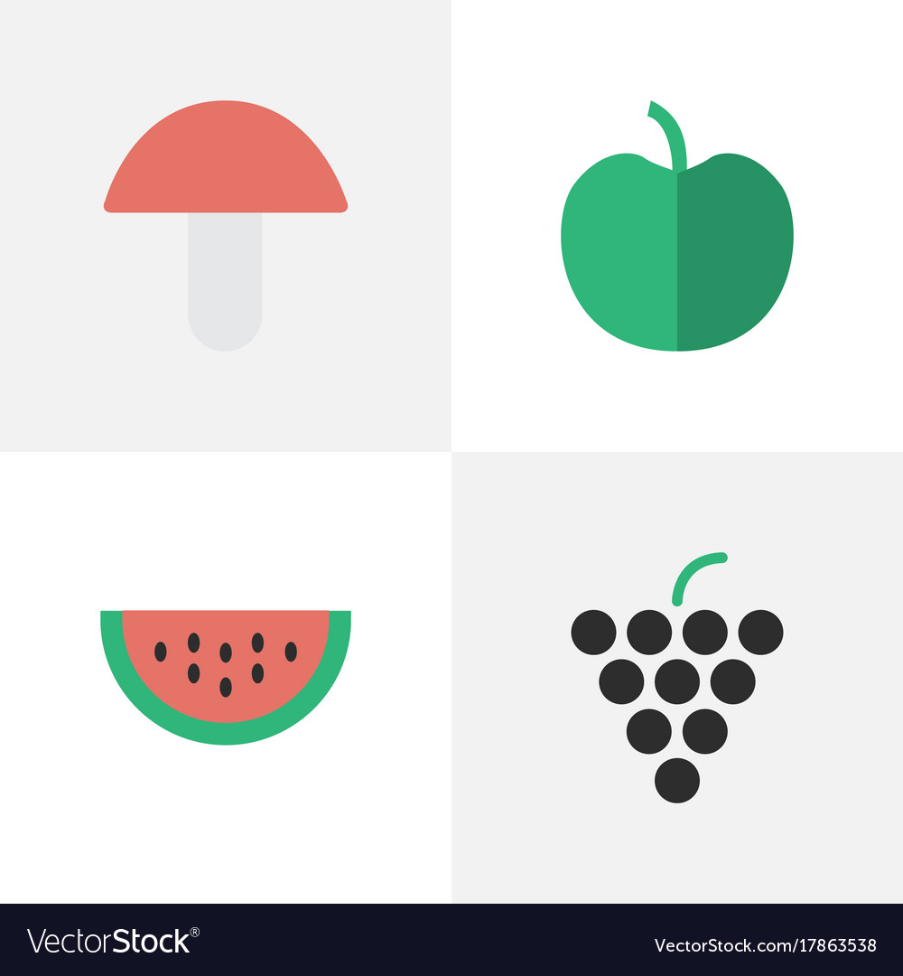 Set of simple horticulture