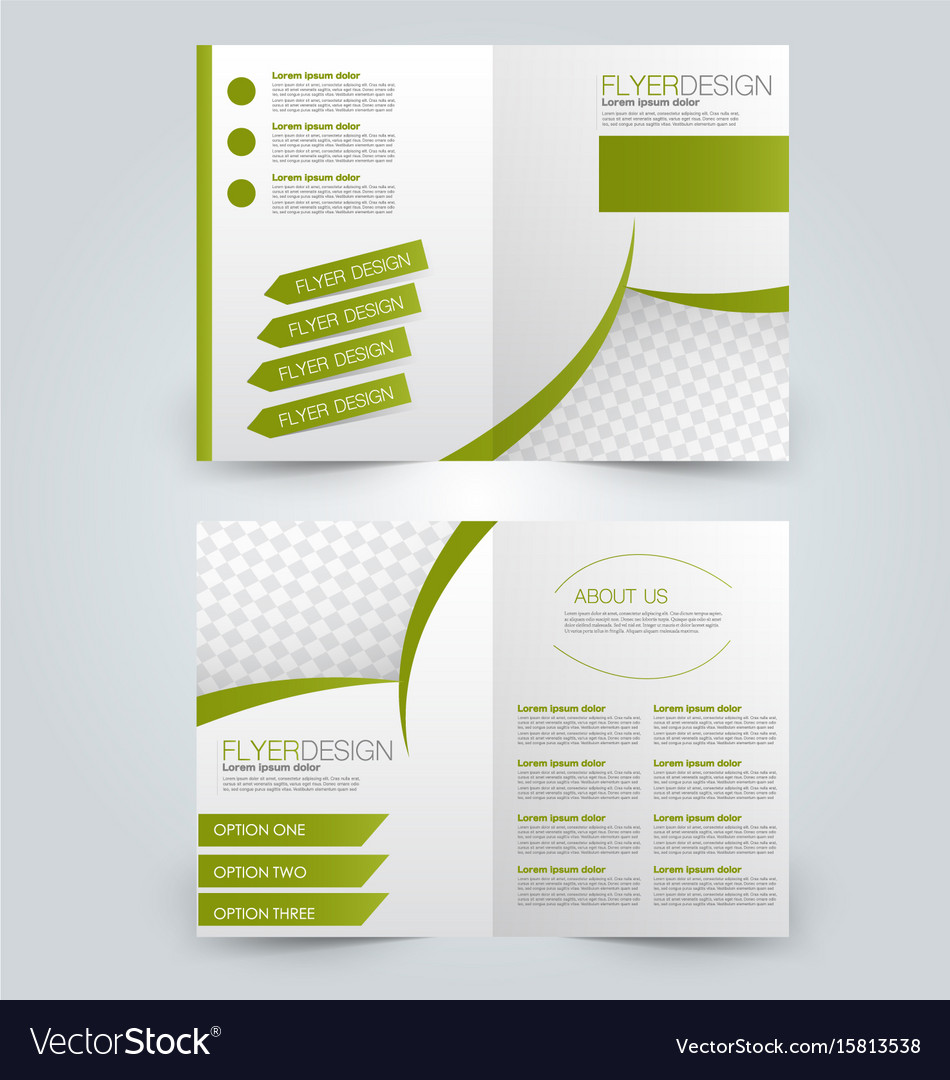 2 Page Brochure >> Two Page Fold Brochure Template Design