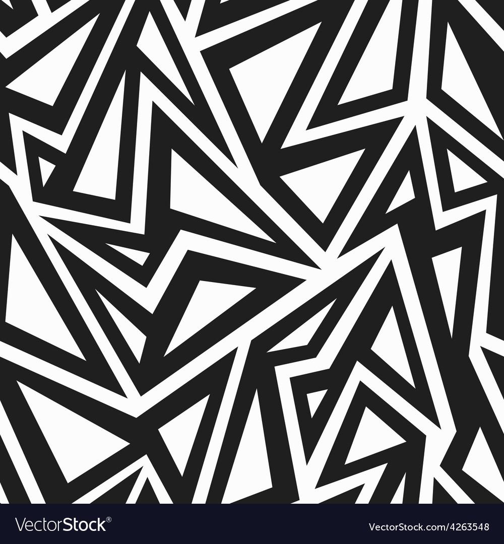 African monochrome seamless pattern