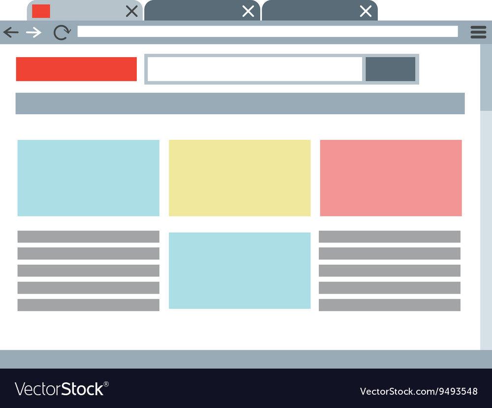 Website template icon