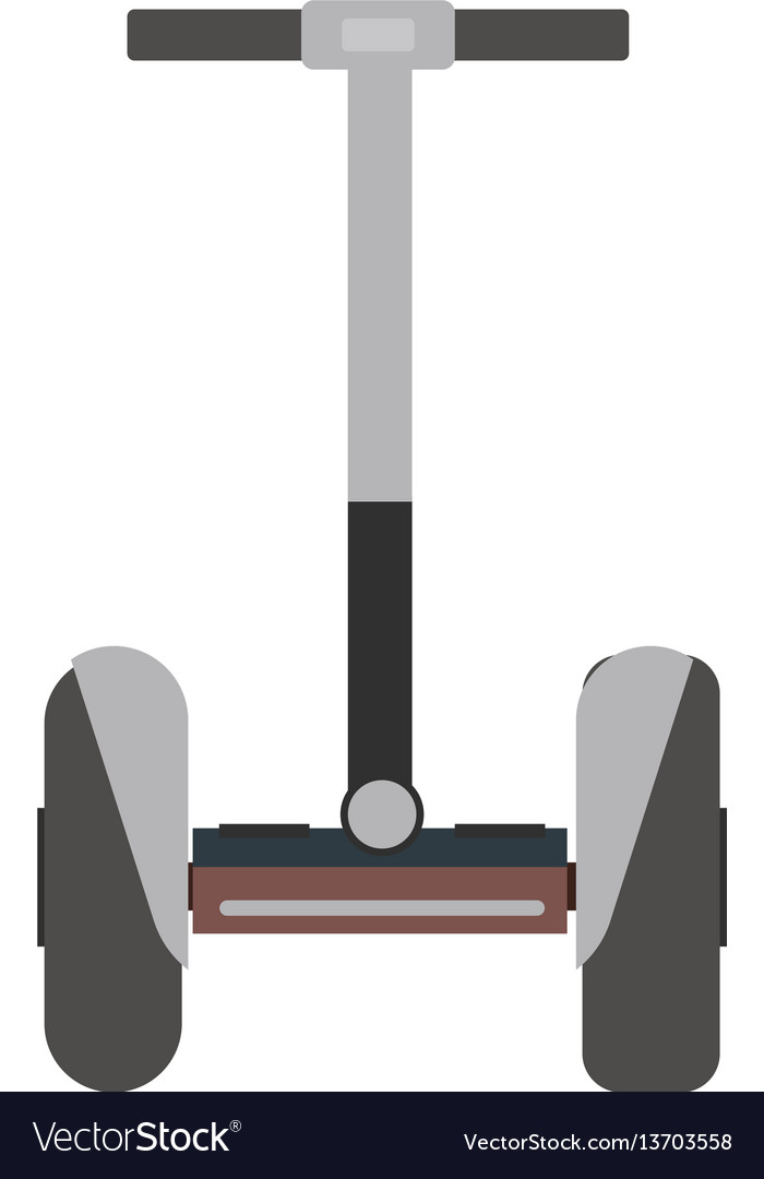 Mono wheel isolated roller scooter