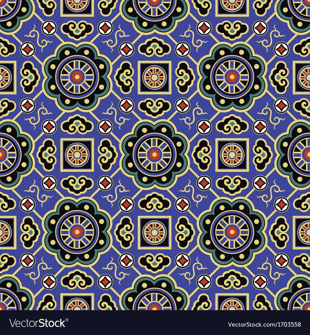 Seamless chinese traditional pattern