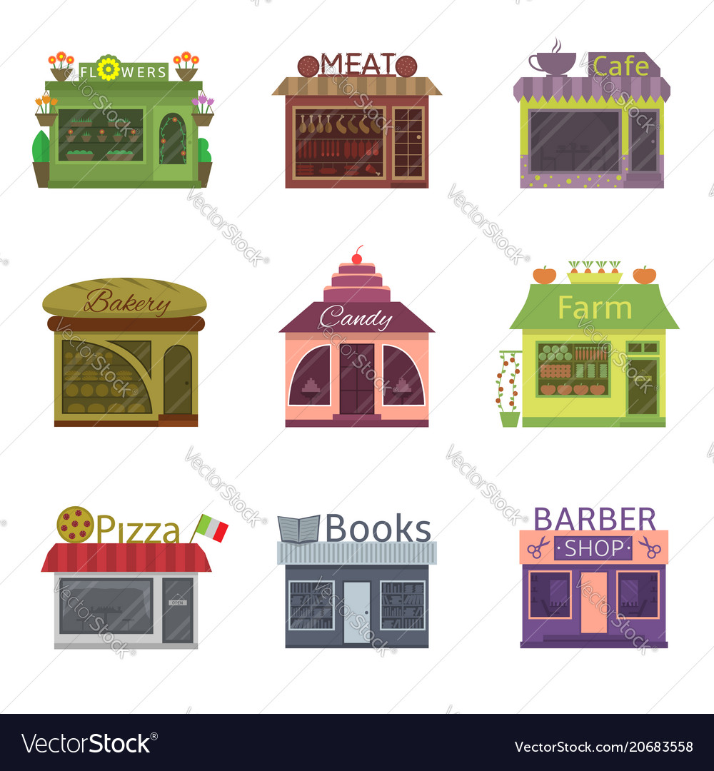 Shops and restaurants