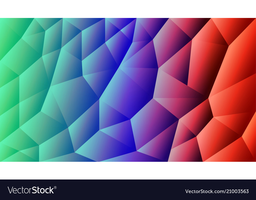 Abstract triangulated background gradient r