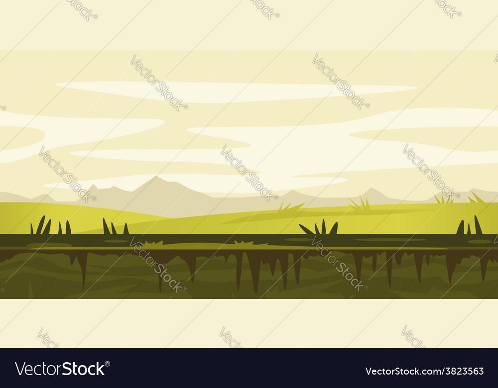 Nature Game Background Landscape