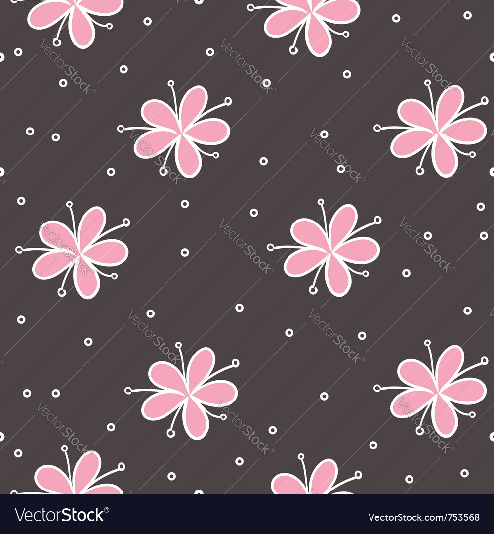 Flower seamless
