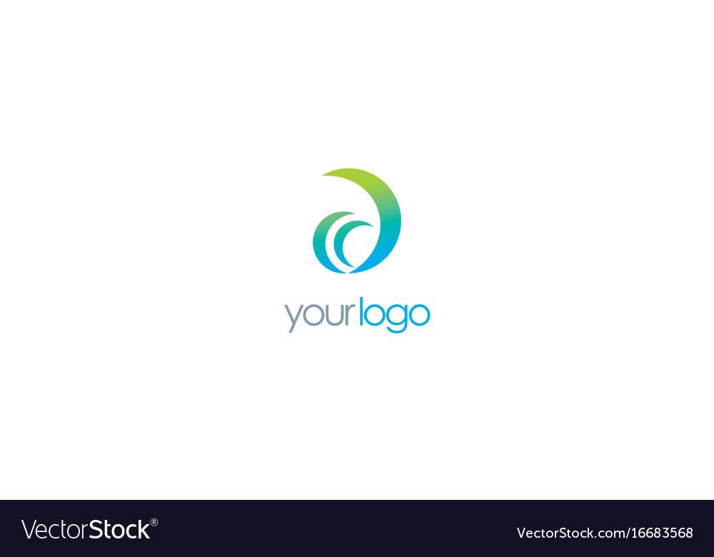 Letter d company logo