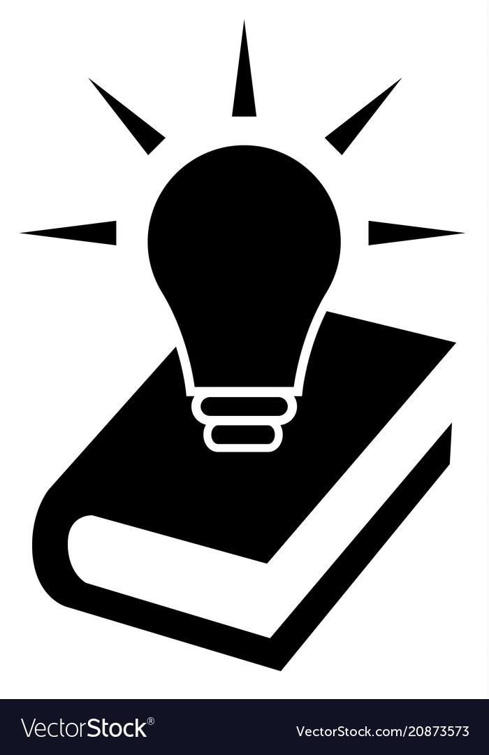 Knowledge Icon Symbol Royalty Free Vector Image